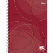 Imagem - Caderno Quadriculado 7x7 mm Espiral Capa Dura Universitário Zip 96 Folhas - Sortido (Pacote com 4 unidades)...