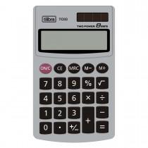 Imagem - Calculadora de Bolso 8 Dígitos Grande TC03 Cinza