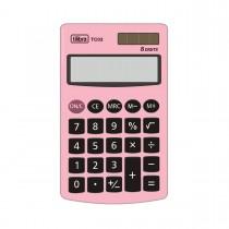Imagem - Calculadora de Bolso 8 Dígitos Grande TC03 Rosa Claro