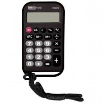 Imagem - Calculadora de Bolso 8 Dígitos Média TC12 Preta