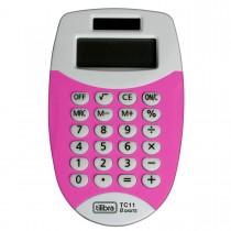 Imagem - Calculadora de Bolso 8 Dígitos Pequena TC11 Rosa