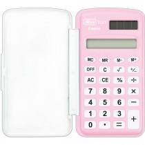 Imagem - Calculadora de Bolso 8 Dígitos Pequena TC21 Rosa