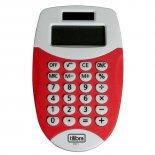 Imagem - Calculadora de Bolso 8 Dígitos Pequena TC11 Vermelha