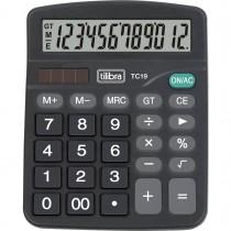 Imagem - Calculadora de Mesa 12 Dígitos TC19 Preta