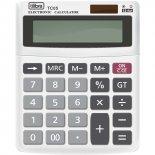 Imagem - Calculadora de Mesa 12 Dígitos Pequena TC05 Branca
