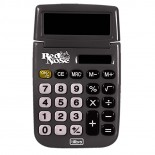 Imagem - Calculadora de Bolso 8 Dígitos Média Red Nose