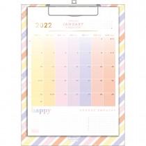 Imagem - Calendário Planner Prancheta 21 x 29,7 cm Happy 2022