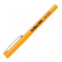 Caneta Hidrográfica 0.4mm EK-200 Artline Amarelo