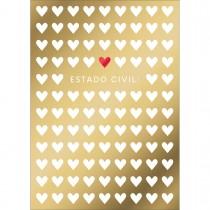Imagem - Cartão By Grafon's Amor Estampa Estado Civil