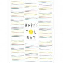 Imagem - Cartão By Grafon's Aniversário Estampa Happy You Day