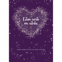 Imagem - Cartão By Grafon's Casamento Estampa Estava Escrito Nas Estrelas