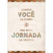 Imagem - Cartão By Grafon's Formatura Estampa Bússola