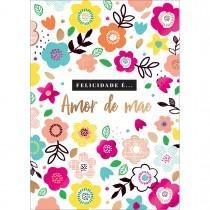 Imagem - Cartão By Grafon's Mães Estampa Flores Coloridas