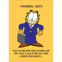 Imagem - Cartão Chefe Garfield (618870)