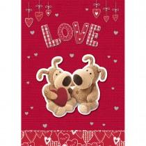 Imagem - Cartão Handmade Beauty Amor Estampa Casal Urso- Grafon's