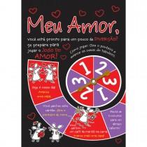 Imagem - Cartão Handmade Beauty Amor Estampa Jogo do Amor- Grafon's
