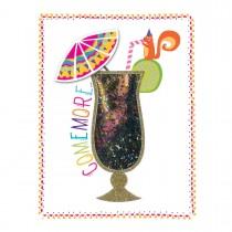 Imagem - Cartão Handmade Beauty Aniversário Estampa Drink - Grafon's