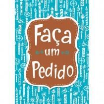 Imagem - Cartão Handmade Beauty Aniversário Estampa Faça um Pedido- Grafon's