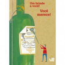 Imagem - Cartão Handmade Beauty Aniversário Estampa Garrafa- Grafon's