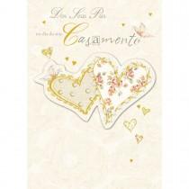 Imagem - Cartão Handmade Beauty Casamento Estampa Dos Pais para os Noivos - Grafon's