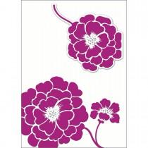 Imagem - Cartão Handmade Beauty Casamento Estampa Flor Lilás - Grafon's