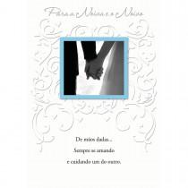 Imagem - Cartão Handmade Beauty Casamento Estampa Para Noivo e Noiva - Grafon's
