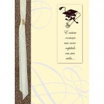 Imagem - Cartão Handmade Beauty Formatura Estampa Diploma - Grafon's