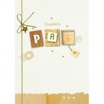 Imagem - Cartão Handmade Beauty Pais Estampa Pai Carta- Grafon's