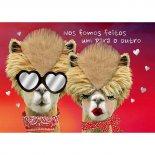 Imagem - Cartão Handmade Beauty Amor Estampa Camelos- Grafon's