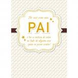 Imagem - Cartão Handmade Beauty Pais Estampa Pai Dourado- Grafon's