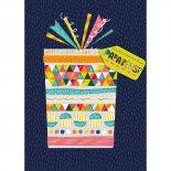 Imagem - Cartão Handmade Beauty Aniversário Estampa Presente- Grafon's