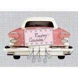 Imagem - Cartão Handmade Beauty Casamento Estampa Carro Recém-nascidos! - Grafon's