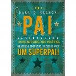 Imagem - Cartão Handmade Beauty Pais Estampa Superpai - Grafon's