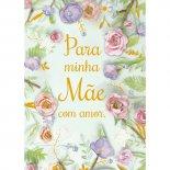 Imagem - Cartão Handmade Beauty Mães Estampa Flores para Mãe- Grafon's