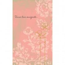 Imagem - Cartão Magic Moments Amizade Estampa Flor- Grafon's