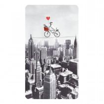 Imagem - Cartão Magic Moments Amor Estampa Bicicleta cidade - Grafon's