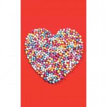 Imagem - Cartão Magic Moments Amor Estampa Bolas coloridas coração - Grafon's