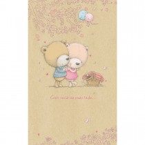 Imagem - Cartão Magic Moments Amor Estampa Ursos Casal - Grafon's