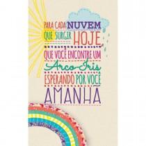 Imagem - Cartão Magic Moments Aniversário Estampa Arco íris - Grafon's