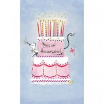 Imagem - Cartão Magic Moments Aniversário Estampa Bolo mais um aniversário - Grafon's