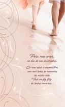 Imagem - Cartão Magic Moments Aniversário Estampa Casal praia - Grafon's