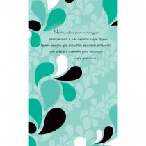 Imagem - Cartão Magic Moments Sucesso Estampa Folhas verdes - Grafon's