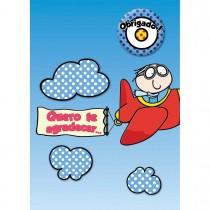 Imagem - Cartão Teen Agradecimento c/ botton