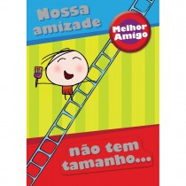 Imagem - Cartão Teen Amizade c/ botton (615277)
