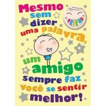 Imagem - Cartão Teen Amizade c/ botton (615447)