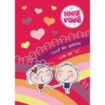 Imagem - Cartão Teen Amor c/ botton (615307)
