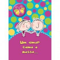 Imagem - Cartão Teen Amor c/ botton (615358)