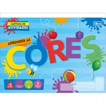 Imagem - Cartilha de Atividades Aprender as Cores Académie 20 Folhas