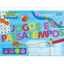 Imagem - Cartilha de Atividades Jogos e Passatempos Académie 20 Folhas