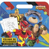 Imagem - Cartilha de Atividades Maleta Power Players 8 Folhas